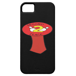 Second Place Bowling Ribbon iPhone SE/5/5s Case