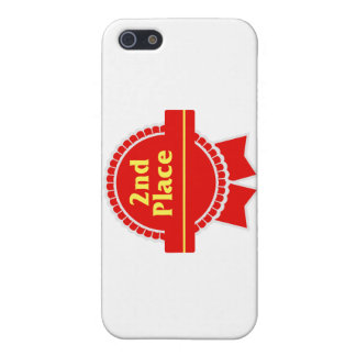 Second Place Red & Gold Ribbon Cover For iPhone SE/5/5s