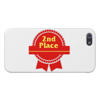 Second Place Red & Gold Ribbon iPhone SE/5/5s Case