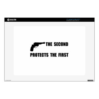 """Second Protects First 15"""" Laptop Skin"""