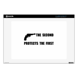 Second Protects First Decal For Laptop