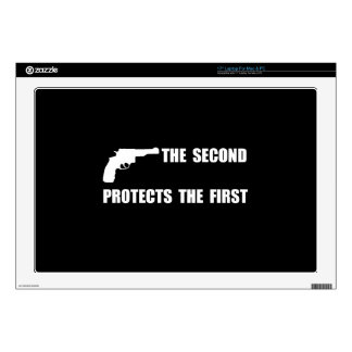 """Second Protects First Decals For 17"""" Laptops"""