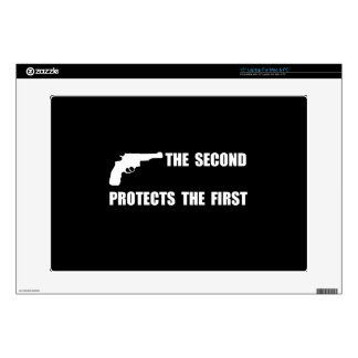 Second Protects First Laptop Skin