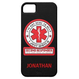 Second Responder iPhone Case iPhone 5 Cases