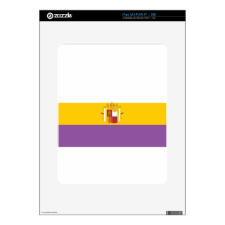 second-spanish-republic-Flag Decal For The iPad