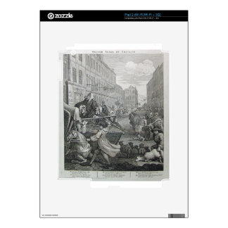 Second stage of cruelty by William Hogarth Skin For iPad 2
