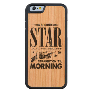Second Star to the Right Carved Cherry iPhone 6 Bumper Case