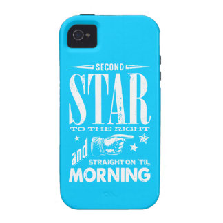Second Star to the Right iPhone 4 Covers