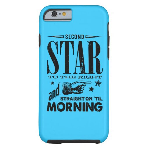 Second Star to the Right iPhone 6 Case