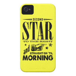 Second Star to the Right iPhone 4 Case-Mate Cases