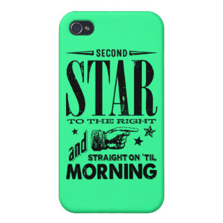 Second Star to the Right Case For iPhone 4