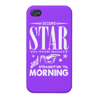 Second Star to the Right iPhone 4 Case