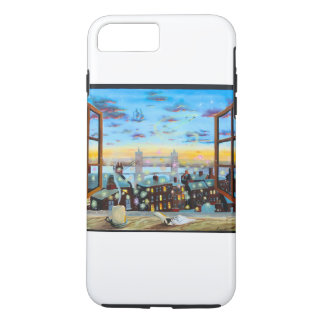 Second star to the right. Peter Pan inspired art iPhone 7 Plus Case