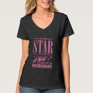 Second Star to the Right T Shirts