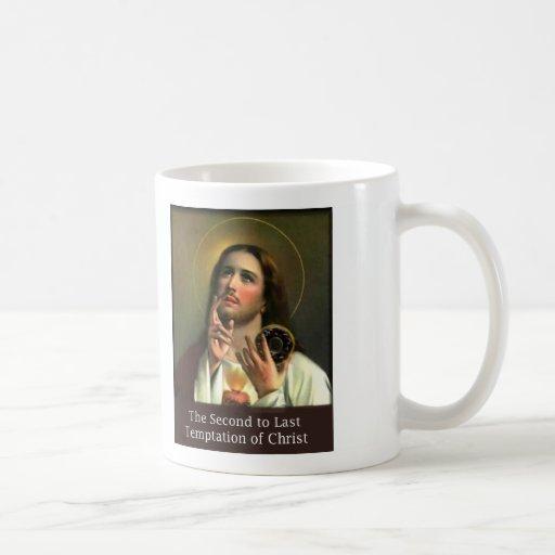 Second to Last Temptation of Christ Classic White Coffee Mug