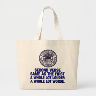 Second Verse Large Tote Bag
