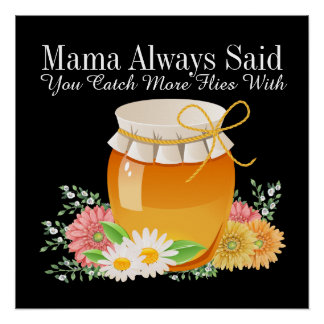 Second Version Mama Always Said - Sharon Rhea Ford Poster
