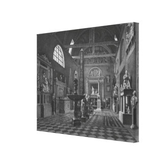 Second view of the introductory room canvas print