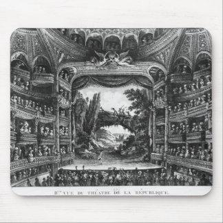Second view of the Theatre de la Republique Mousepads