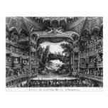 Second view of the Theatre de la Republique Postcard