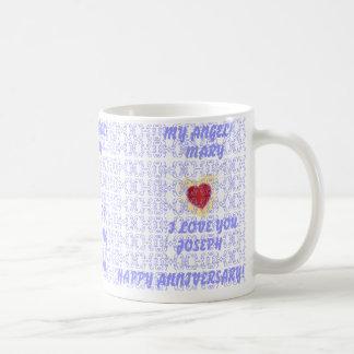 Second Wedding Anniversary- Customize Coffee Mug