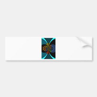 Secondary Colors Hakuna Matata Bumper Sticker