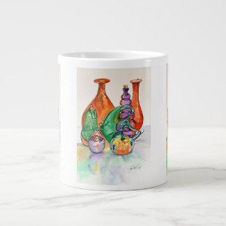 Secondary Colors Jumbo Mug 20 Oz Large Ceramic Coffee Mug