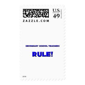Secondary School Teachers Rule! Stamps