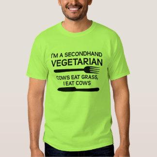 Secondhand Vegetarian Funny T-Shirt