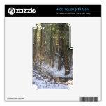 Secoyas de Calavera Calcomanía Para iPod Touch 4G