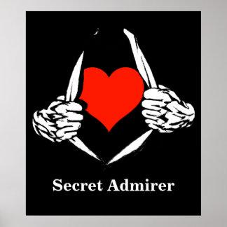 Secret Admirer Posters