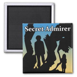 Secret Admirer T-Shirts, Buttons & Magnets