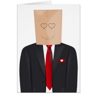 Secret Admirer Valentine's Day Card