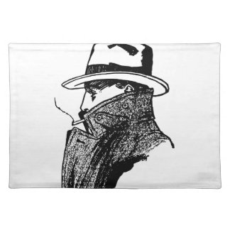 Secret Agent Cloth Placemat