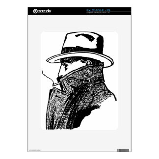 Secret Agent Decal For The iPad