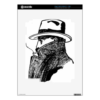 Secret Agent Decals For The iPad 2