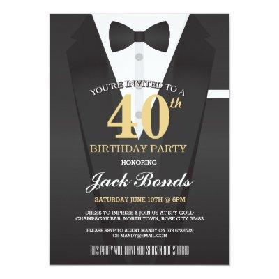 Secret agent spy top secret birthday party invite zazzle filmwisefo Image collections