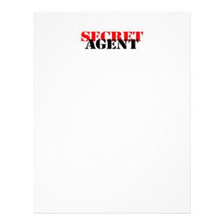 Secret Agent Custom Flyer