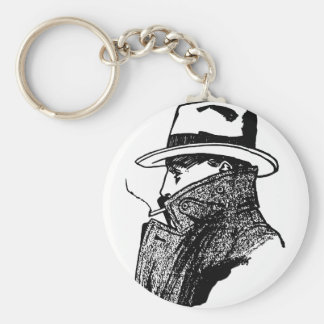 Secret Agent Keychain