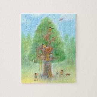 Secret base pastel of big wood puzzle