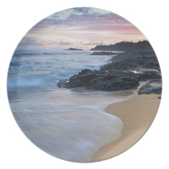 Secret Beach at dawn Dinner Plate