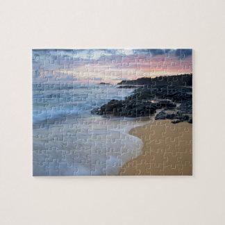 Secret Beach at dawn Jigsaw Puzzle