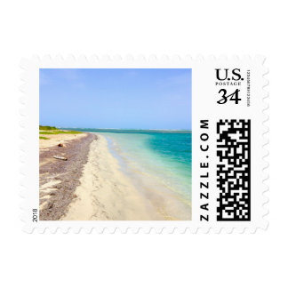 Secret Beach in Guanica, Puerto Rico Postage