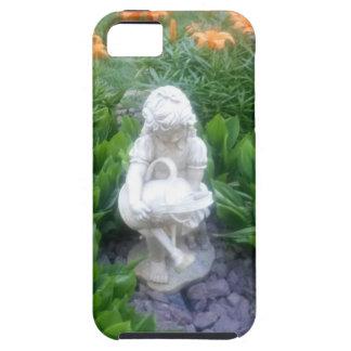 Secret Beautiful Flower Garden with Statue iPhone 5/5S Case