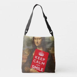 Secret Behind Mona Lisa's Smile Tote Bag