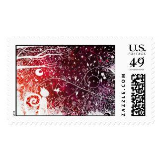 Secret best friends - US stamps