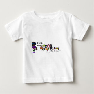 Secret City Characters2 copy.jpg Baby T-Shirt