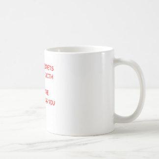 secret classic white coffee mug