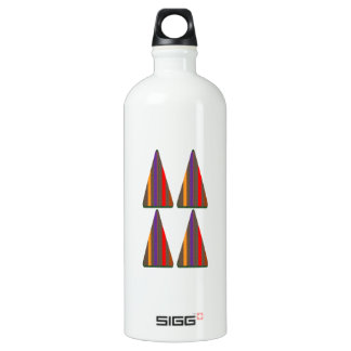 Secret CODE: PYRAMID Triangle Art: LOW PRICE Aluminum Water Bottle