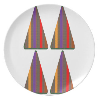 Secret CODE: PYRAMID Triangle Art: LOW PRICE GIFTS Dinner Plate